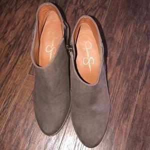 Jessica Simpson Calawyn Boots 9.5